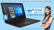 How do I get in touch with HP support