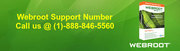 Webroot Support Number