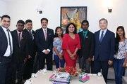 Youth Delegation From Sri Lanka Visited Marwah Studios