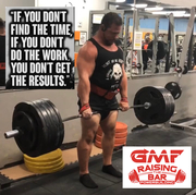 Gary Miller Fitness working on deadlifts