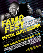 FAMP FEST AUDITIONS