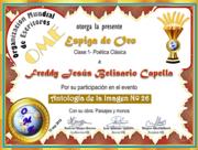 FREDDY JESÚS BELISARIO CAPELLA