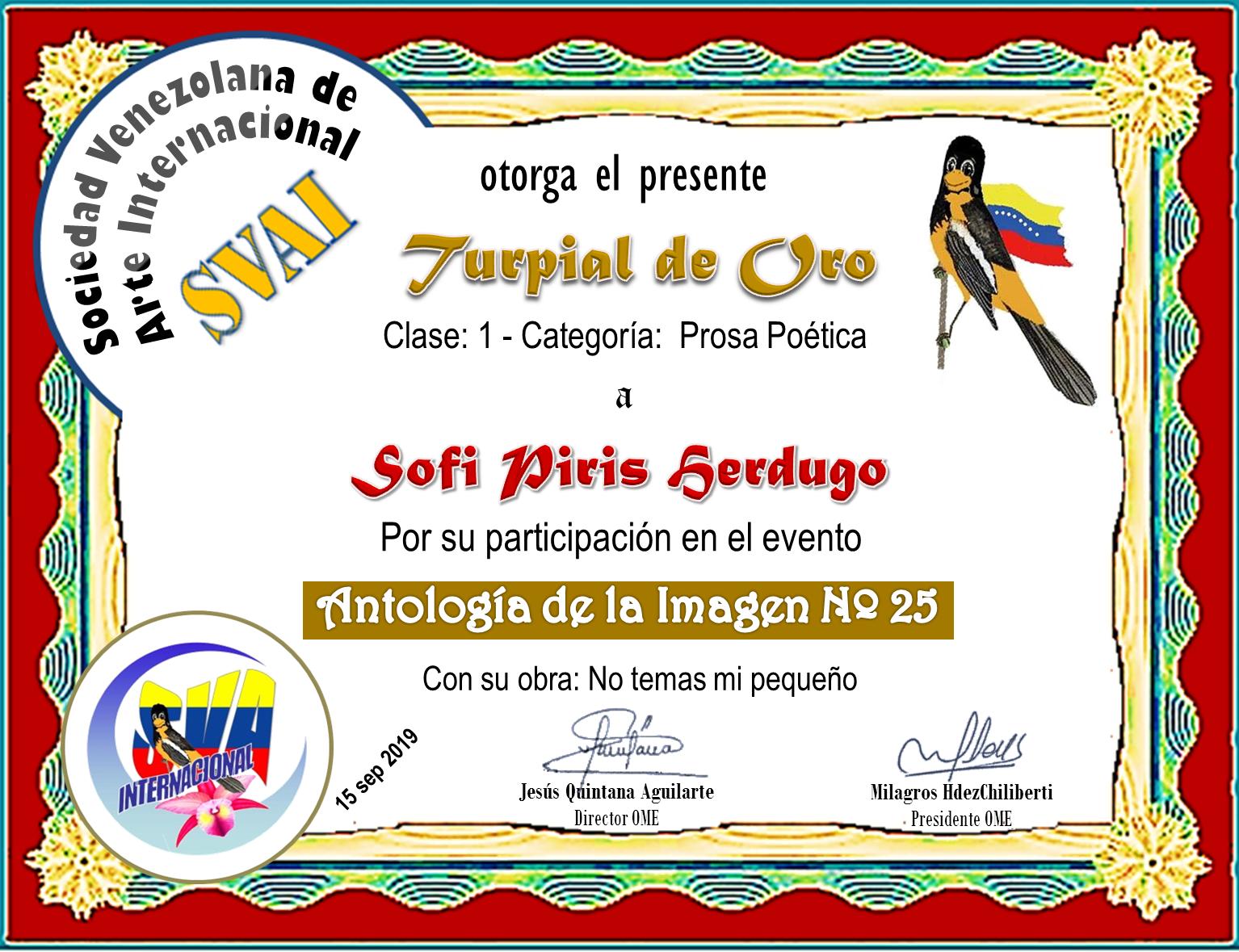SOFI PIRIS HERDUGO