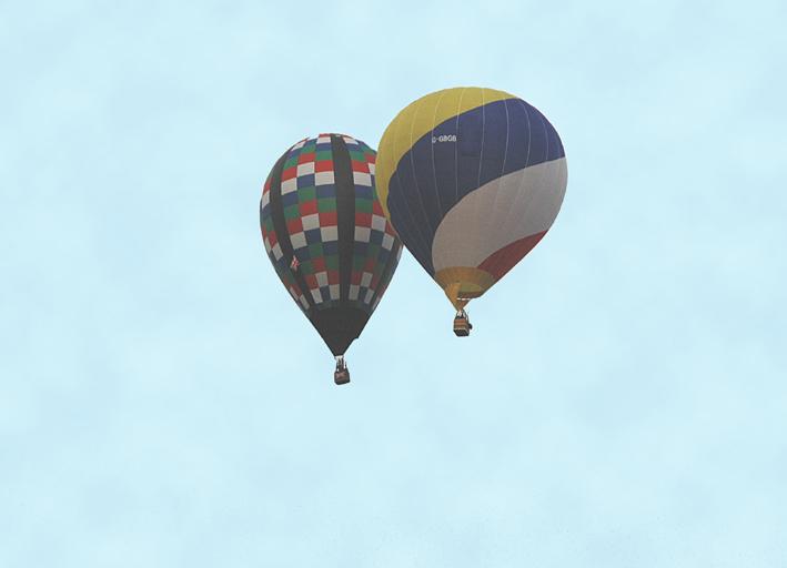 Balloon collision