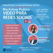 WORKSHOP: Vídeo para Redes Sociais