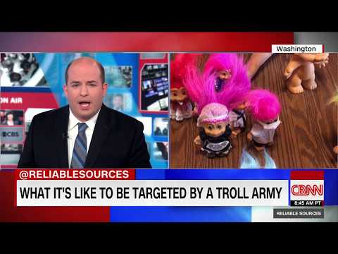 Brian Stelter Comes Face To Face With 'Troll Army'