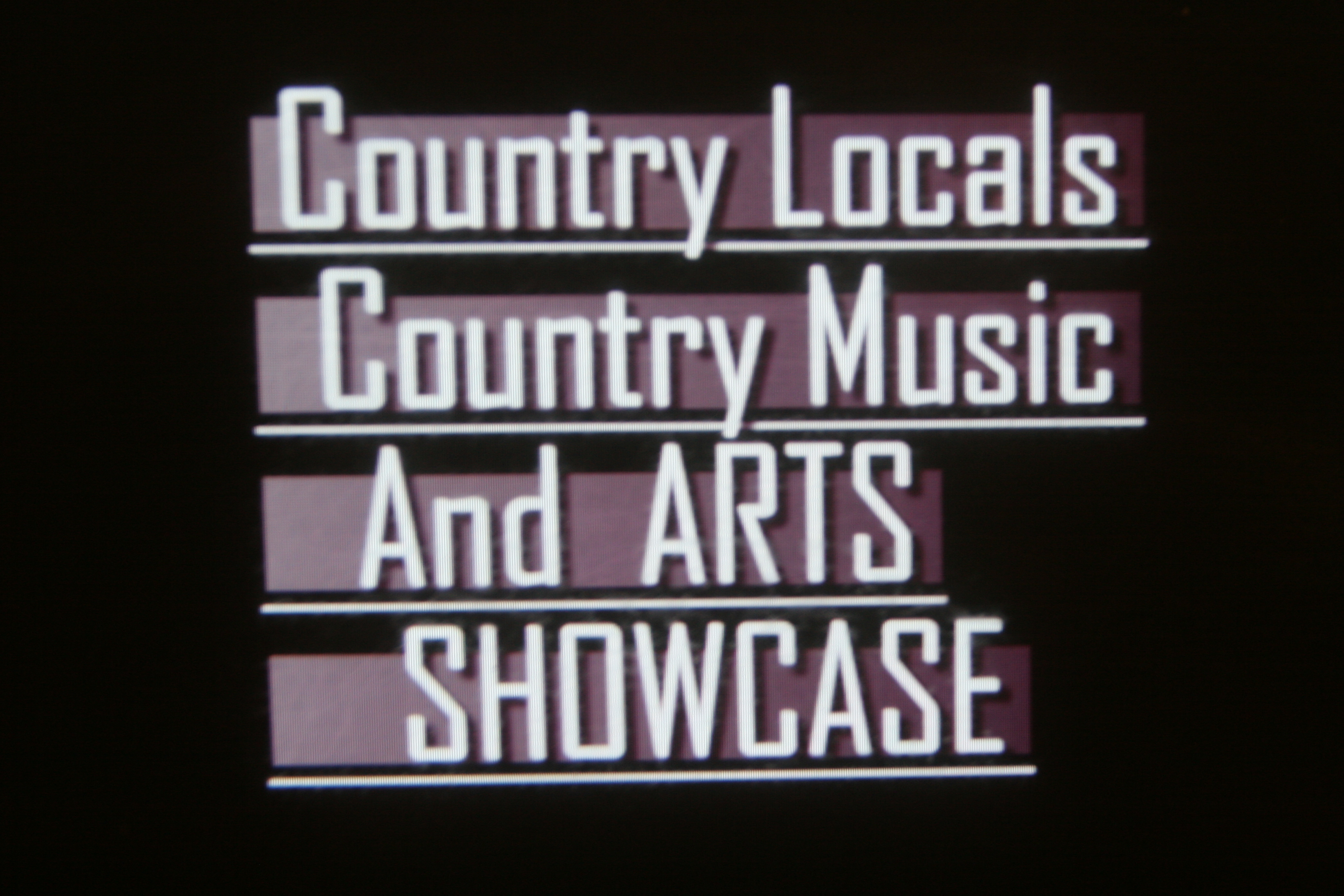 Country Locals:Music
