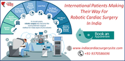 International patients making their way for robotic cardiac surgery in India