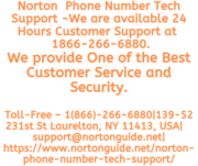 Norton Phone Number Tech Support