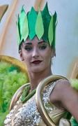 la ragazza in verde