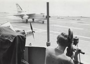 VAH 6 landing Ken filming Pix by Mike Herron 1959