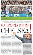 Valencia stun chelsea