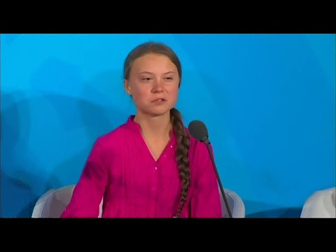 Cult Leader Thunberg Goes for Best Globalist Actress of 2019 at UN Summit