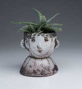 Spiky Face Planter