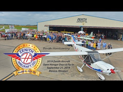 Zenith Aircraft Homecoming: 2019 Open Hangar Days and Fly-In