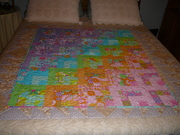 Candy Splash Baby Quilt