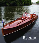 Claire på omslaget av amerikanska tidskriften Rudder 2018
