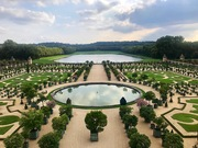 The Gardens of Versailles in France