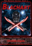 Galaxii #1 Blachart by Christina Engela - Cover