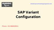 SAP Variant Configuration Training | SAP VC Training - TT