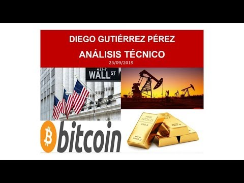 Análisis Técnico sobre Índices, Bitcoin y Materias Primas. 25/09/19.