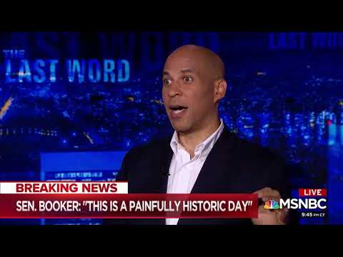 "Booker: Trump Supporters Are ""Despicable"""