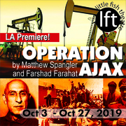CIA Covert Operation Play - OPERATION AJAX at Little Fish Theatre