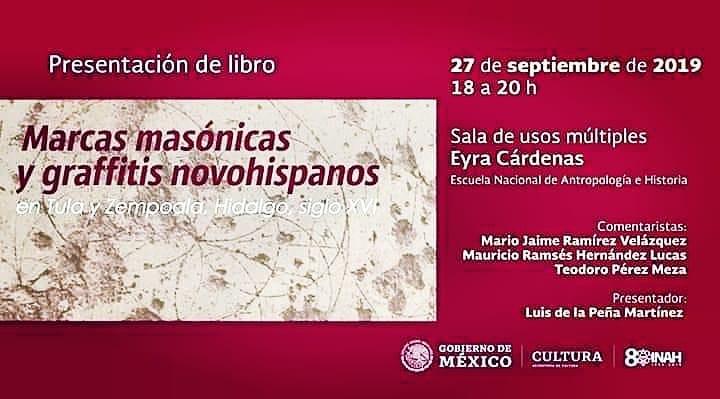 Marcas masónicas y graffitis novohispanos en Tula y Zempoala, Hidalgo, siglo XVI.