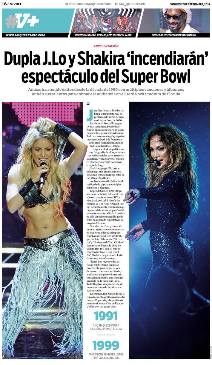 Shakira Jlo Superbowl