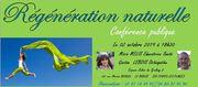 conférence régénération naturelle