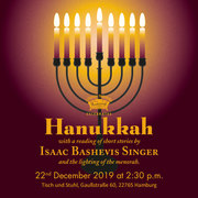 Couch Theatre presents: Hanukkah - Festival of Lights