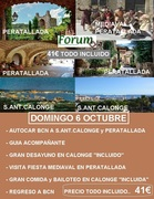 EXCURSION A PERETALLADA DOMINGO 6 OCT.