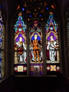 The Stained glass of Franzensburg