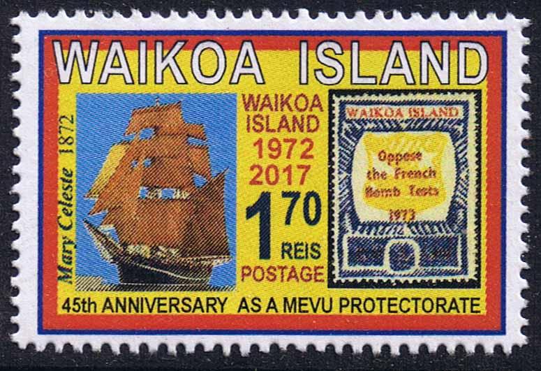 Waikoa Island 2017 45th anniversary as a Mevu protectorate.