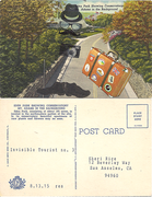 ALTERED POSTCARDS - INVISIBLE TOURIST SERIES