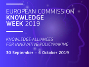 Join us at European Commission's Knowledge Week