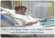 After Cardiac Bypass Surgery India Glasgow Resident Arlo Harris Back to His Life Back