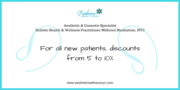 Discount for NEW Patients from Radiance Aesthetics and Wellness