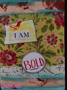 affirmation card bold