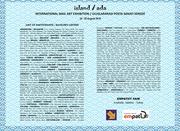 """""""ISLAND"""" INTERNATIONAL MAIL ART EXHIBITION"""