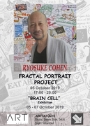 RYOSUKE COHEN FRACTAL PORTRAIT PROJECT 2019 -ISTANBUL
