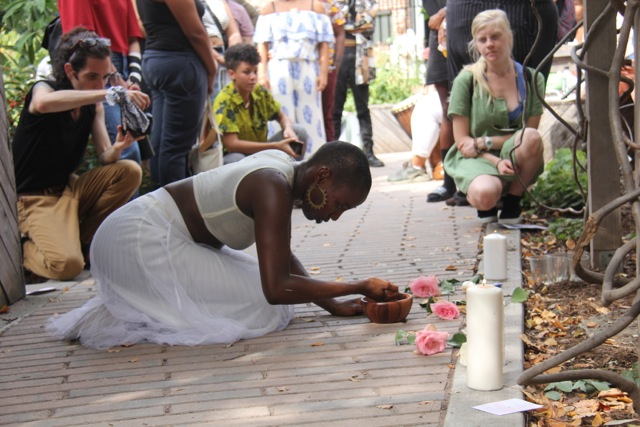 9/28/2019 OUTSIGHT Garden Performance w/ Artist Nana Chinara