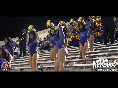 Juicy - Alcorn State Marching Band and Golden Girls 2019 | vs MVSU [4K]