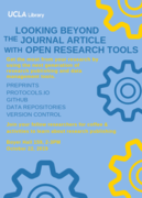 Looking Beyond the Journal Article With Open Research Tools
