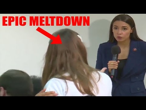 LADY HAS EPIC MELTDOWN OVER AOC's END OF THE WORLD PREDICTION