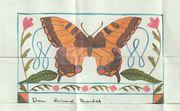 hand-made letter  Thank you Marni Zainodin