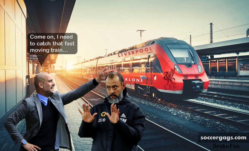 Train gone