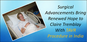 Surgical Advancements Bring Renewed Hope to Claire Tremblay With TAVR Procedure in India