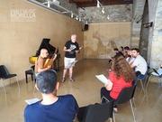 Classe de Cant amb Marta Almajano. Antonio Sabuco, cantant 1