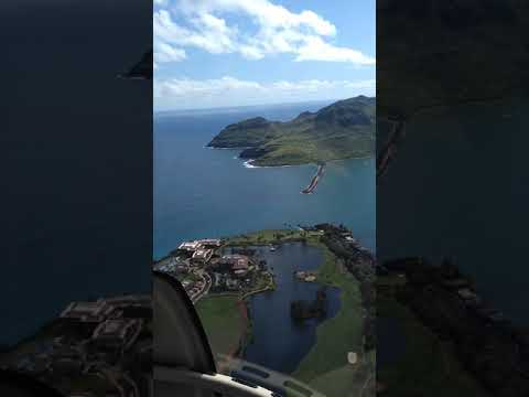 Great helicopter tour of Hawaii